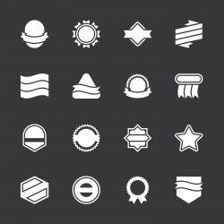 Label Icons Set 4 - White Series