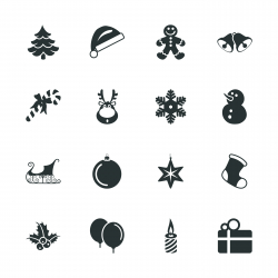 Christmas Silhouette Icons