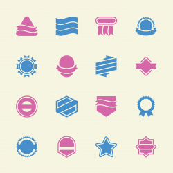 Label Icons Set 4 - Color Series