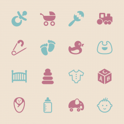 Baby Icons - Color Series