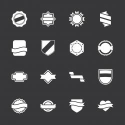 Label Icons Set 5 - White Series