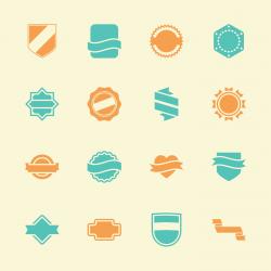 Label Icons Set 5 - Color Series
