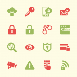Security Icons - Color Series