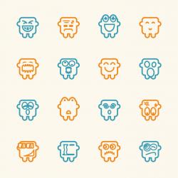 Emoticons Set 10 - Color Series