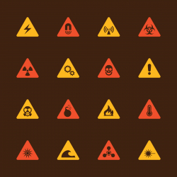 Hazard Icons - Color Series