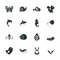Animal Silhouette Icons