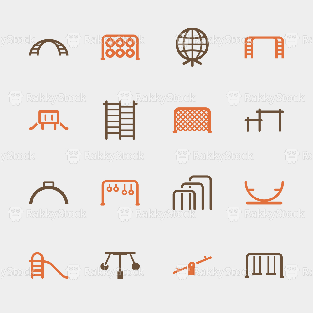 Playground Icons Set 2 - Color Series