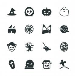 Halloween Silhouette Icons