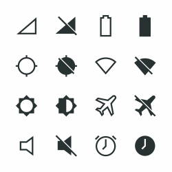 Devices Silhouette Icons