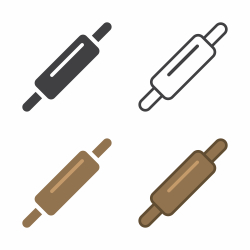 Rolling Pin Icon