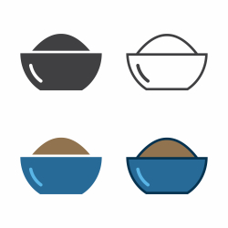Bowl Of Powder Icon