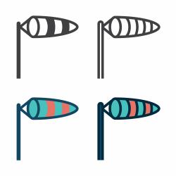 Wind Sock Icon