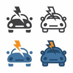 Car Lightning Icon