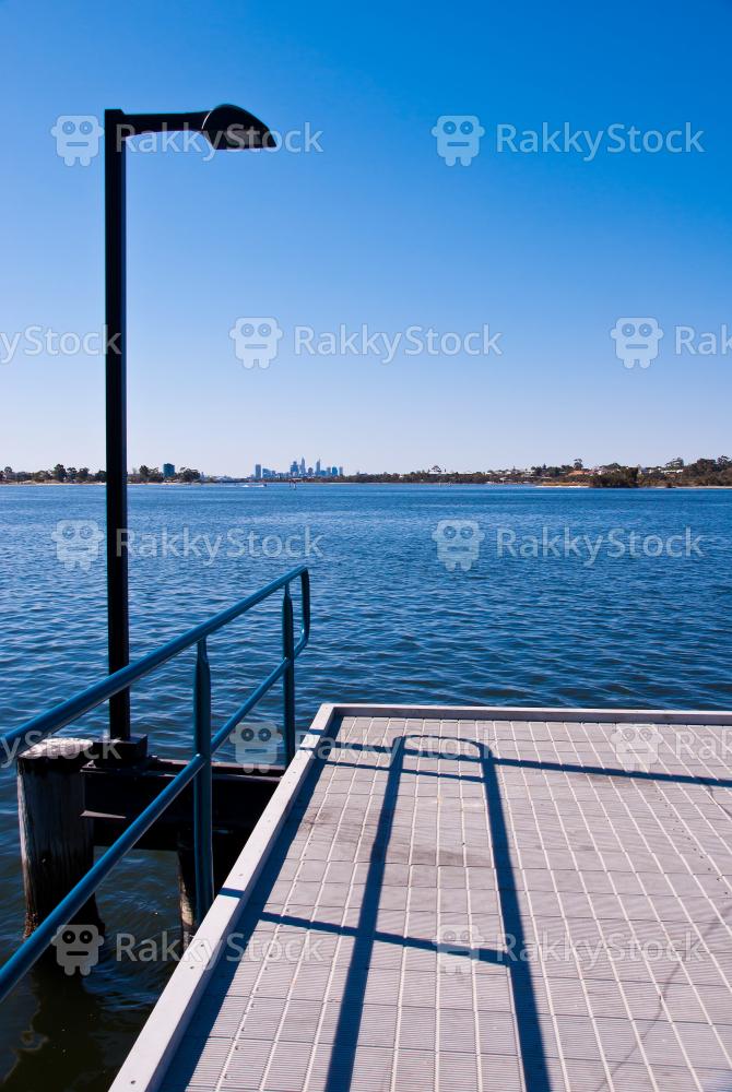 Perth Swan River jetty