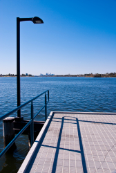 Perth Swan River jetty