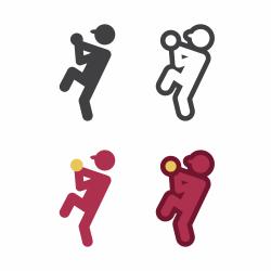 Baseball Pitcher Icon