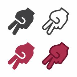Hand Signal Icon