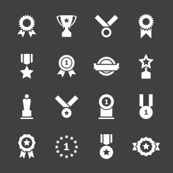 Award Icons - White Series