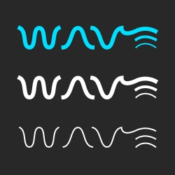 WAVE - Typography Series