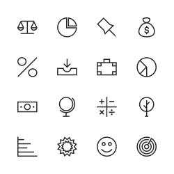 Basic Icon Set 6 - Line Series