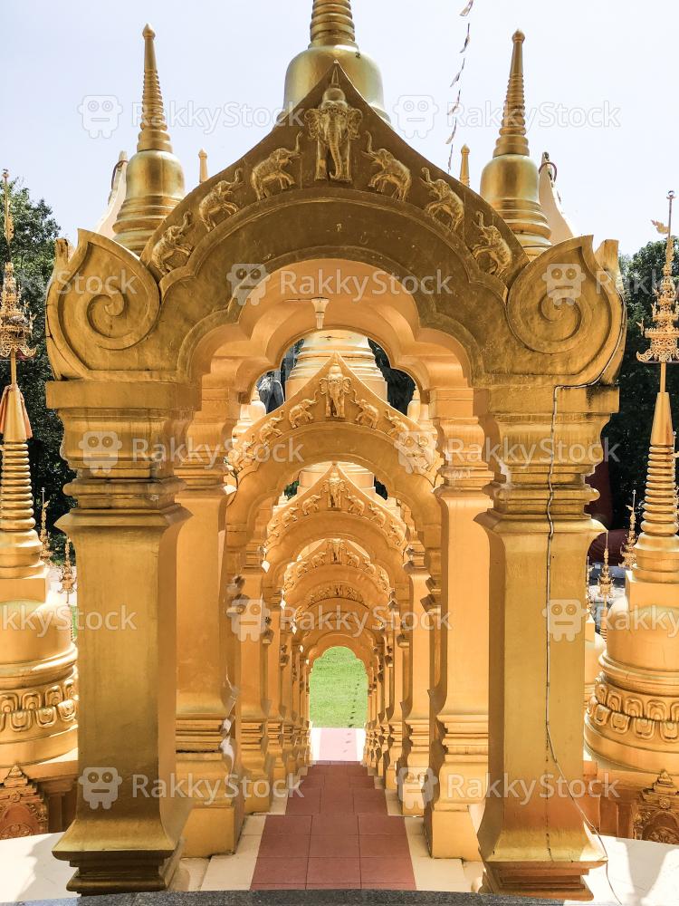 Wat Pasawangboon Saraburi Province, Thailand