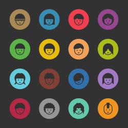 Avatar Icon - Color Color Series