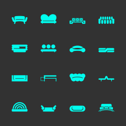 Sofa Design Icons