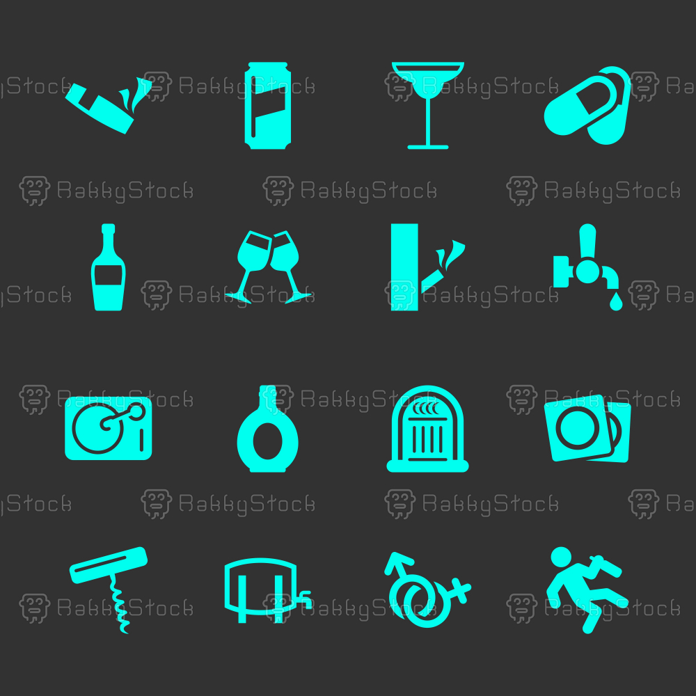 Drunk Party Icons