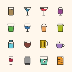 Drink Icon - Outline Series