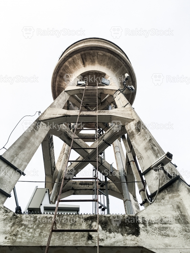 Cement Water Tower