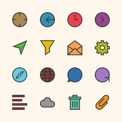 Basic Icon Set 2 - Outline Series