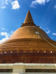 Phard Prathom Jedi, The Biggest Pagoda of Thailand