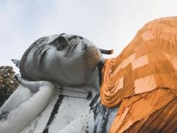 Reclining Buddha at Wat Khun Inthapramun, Thailand