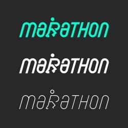 Marathon - Typography Series