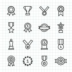 Award Icon - Hand Drawn Series