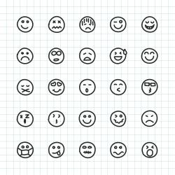 Emoji Icon - Hand Drawn Series