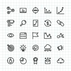 SEO Icon - Hand Drawn Series