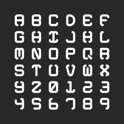 Heavy Alphabet - Typography Series