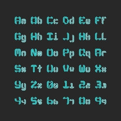 Regular Typescript Set - Typography Series