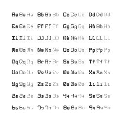 Alphabet Full Set - Typography Serie