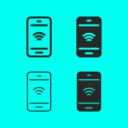 Wi-Fi on Mobile Icon