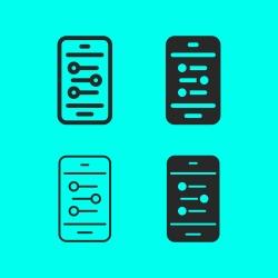 Mobile Sound Mixer Icon