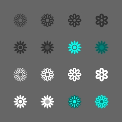 Daisy Icon - Multi Series