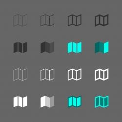 Map Icon - Multi Series
