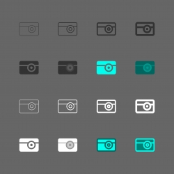 Camera Icon - Multi Series
