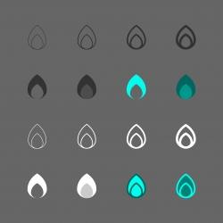 Flame Icon - Multi Series