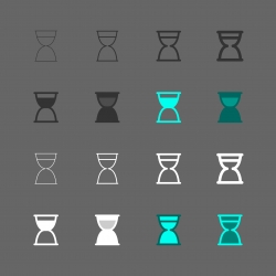 Sandglass Icon - Multi Series