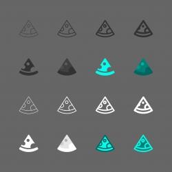 Pizza Icon - Multi Series