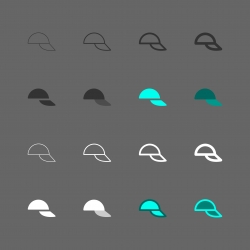 Cap Icon - Multi Series