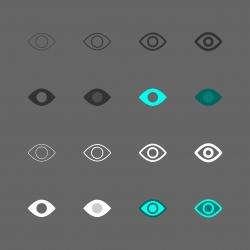 Eye Icon - Multi Series